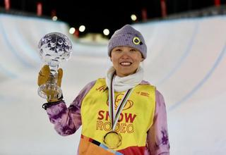 蔡雪桐获单板滑雪技巧类项目世界杯总冠军