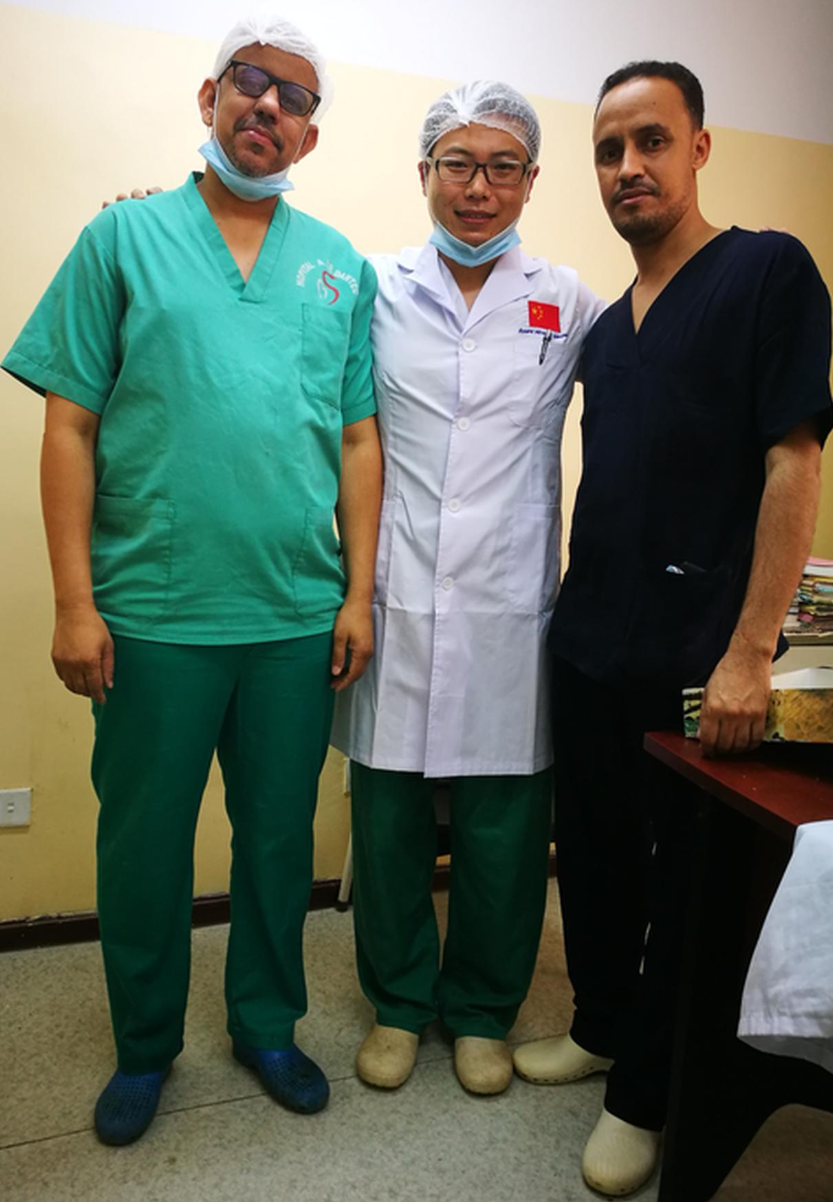 哈市一院孙嘉阳腹腔镜下为胆囊病患解除痛苦