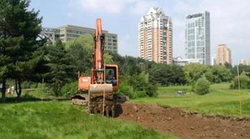 赣水路高尔夫俱乐部恢复成公园
