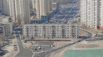 哈尔滨群力钉子大楼被爆破