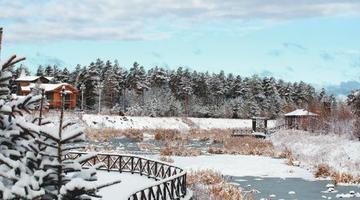 黑龙江漠河6小时雪深达10厘米