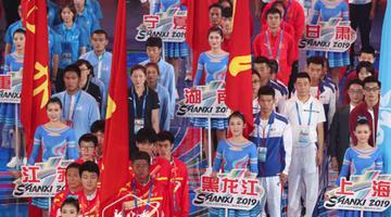 龙江代表队二青会收获65金