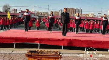 哈尔滨中学一保安大叔火了