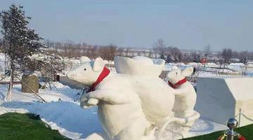 哈市31个公园再添92个雪人