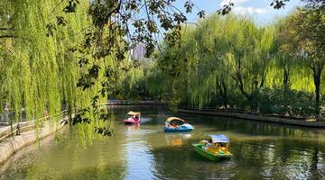 哈尔滨兆麟公园秋景美如画