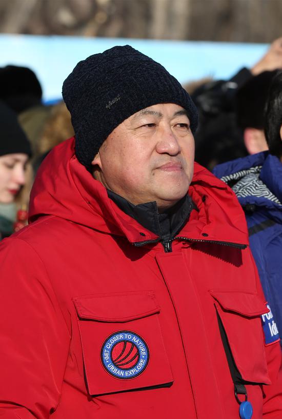 哈尔滨太阳岛集团有限公司党委书记、董事长刘明宇。
