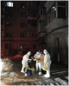 哈尔滨市儿童医院:连续奋战共筑防疫墙