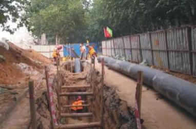 呼兰17个小区实施供热管网改造 涉及114万平方米