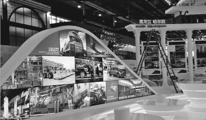 第五届中国-俄罗斯博览会中央展区。 本报记者王玮曲静摄