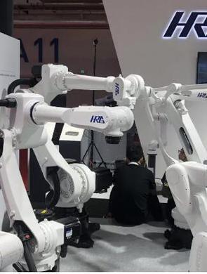 哈工大机器人亮相世界机器人大会