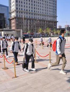 哈尔滨初中毕业年级返校复学