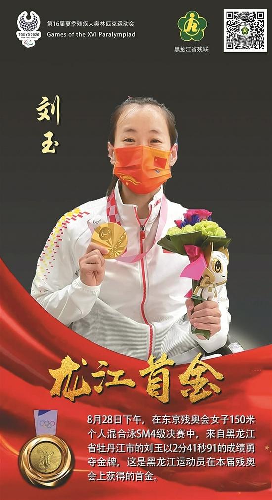 残奥会龙江首金 省委省政府致贺电