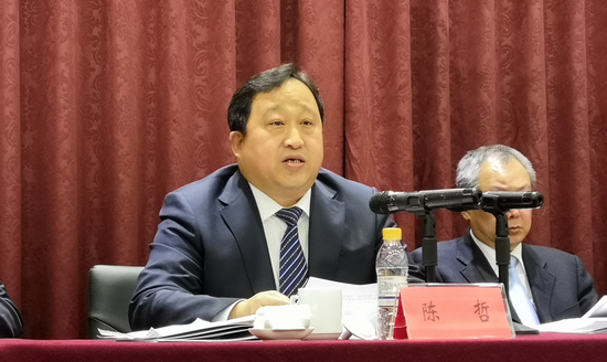 黑龙江省体育局党组书记、局长陈哲