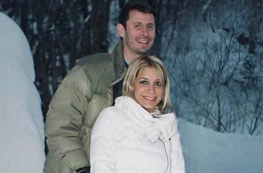 莉霍斯与丈夫(图源:社交媒体)