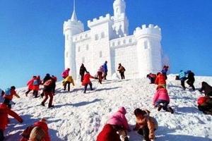 """白雪变""""白金""""冬季旅游热冰城 冰雪旅游已成金名片"""