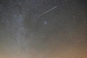 2018多场流星雨将上演 英仙座双子座流星雨值得期待