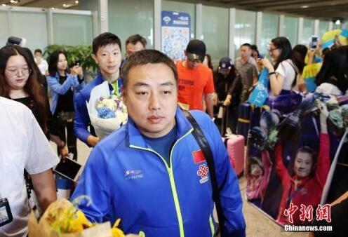 资料图:刘国梁。 中新社记者 卞正锋 摄