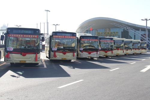 新型大容量公交车