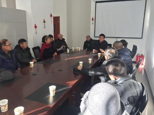 哈尔滨市交通运输局党组书记、局长李庆与星光耀社区居民代表座谈