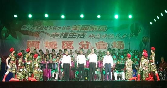 分享到    此次演出的全部节目由朝阳社区群星合唱团负责编排和表演图片