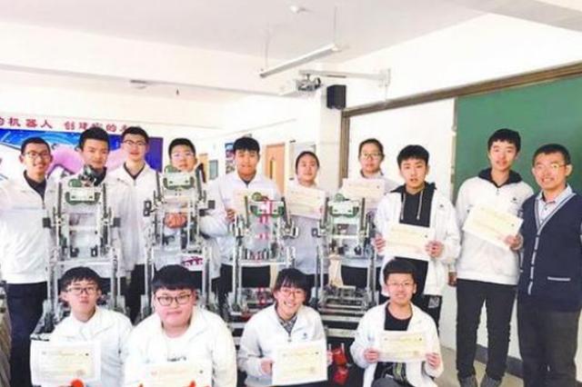 亚洲机器人赛哈工附夺3金1银 队员个个是牛人