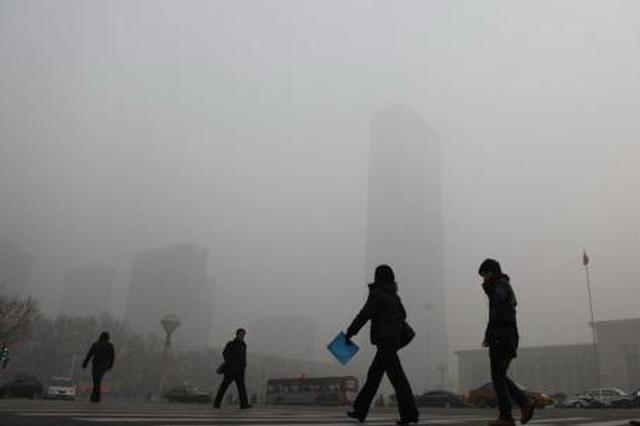 前11月空气质量相对较差10城公布:河北6城上榜