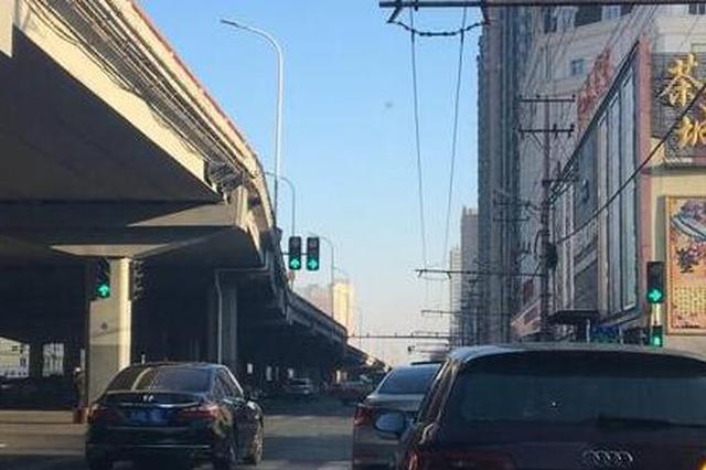 """哈尔滨大发""""三角地""""增设信号灯 右转弯必须看灯"""
