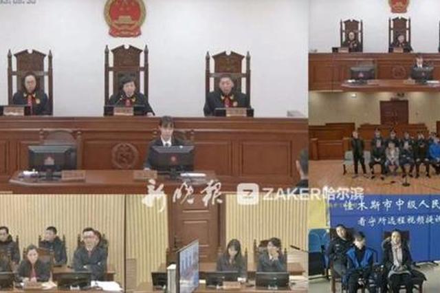 哈尔滨中级法院首次采用远程视频跨区域审案
