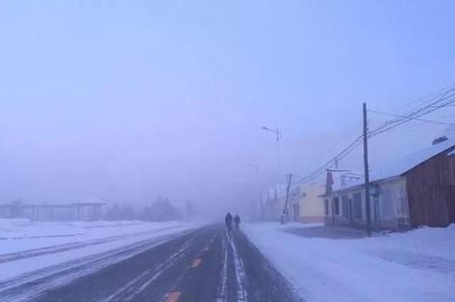 -35℃!强冷空气突袭哈尔滨 刷新57年最低温纪录