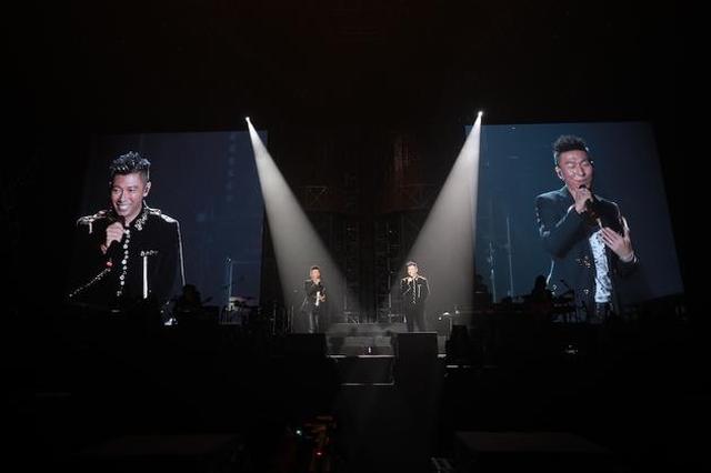 羽泉20周年巡演苏州开唱 约定下一个20年也在一起