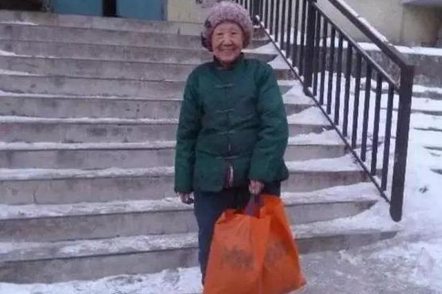 鸡西87岁奶奶有房不差钱还去拾荒 真相让我们感动