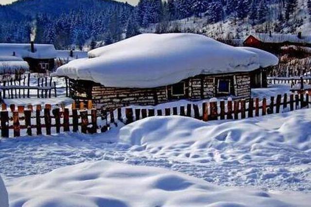 今天黑龙江省大部地区有降雪 阵风6级降温3-5℃