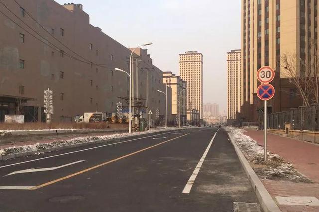 别走错了 哈尔滨哈西这条新修的路还没全打通