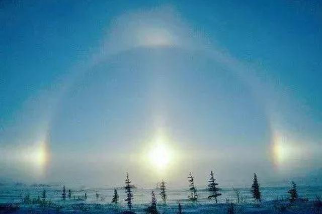 黑龙江今早出现4个太阳 再召唤后裔射日吗