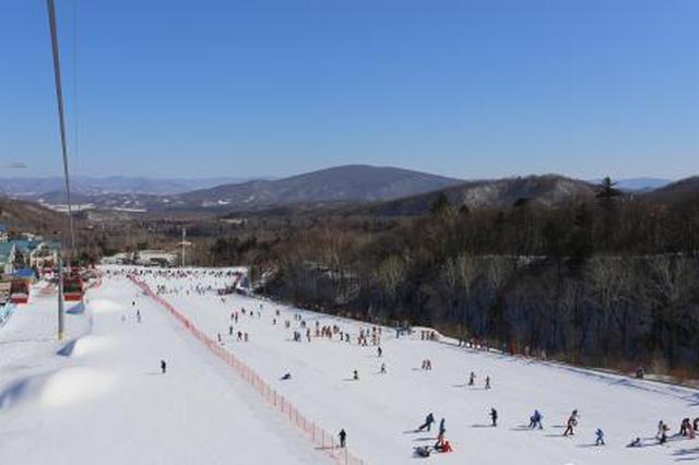 """黑龙江省滑雪旅游市场新春""""发烧"""" 冰雪运动热情高涨"""