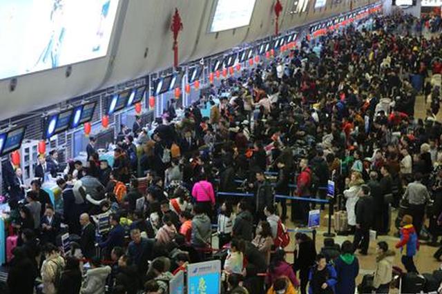 哈尔滨机场春节黄金周运送旅客43万人次 创历史新高