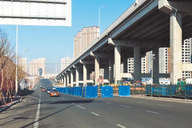 因管线迁移 和谐大道这处路段3月1日前部分封闭