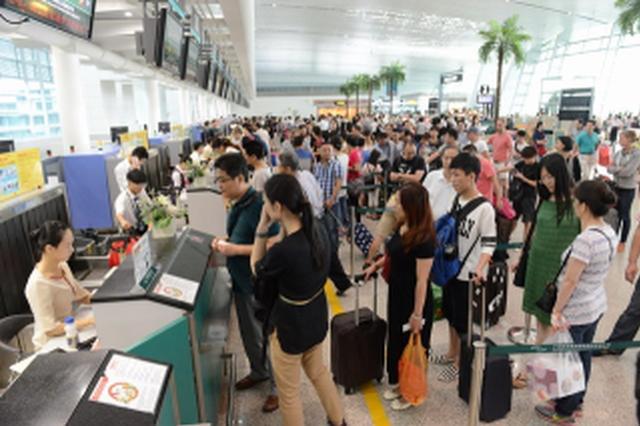 大庆萨尔图机场大年初二进出港旅客再创新高