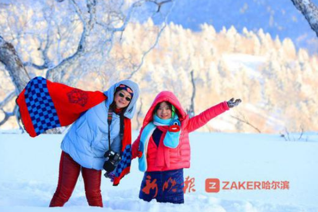 南方客春节组团来哈尔滨玩冰雪 亚布力每天迎客上万