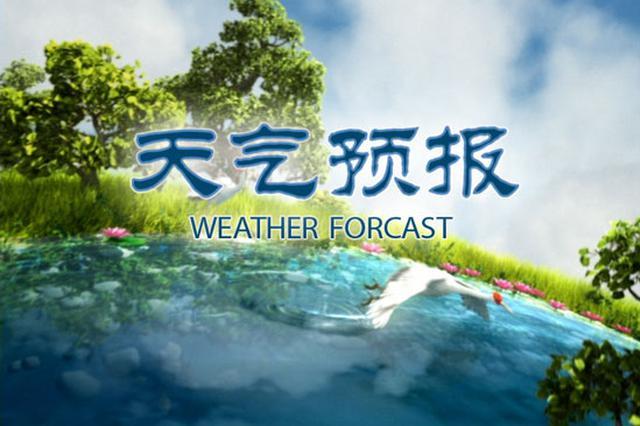 未来三天 冰城气温波动回升周日最高-6℃
