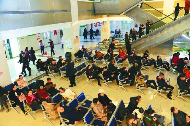 节后首个工作日冰城各大医院门诊患者较节前增三成多