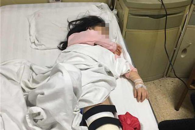 女孩摸了下仿制兵马俑 被砸得头出血腿骨断裂(图)