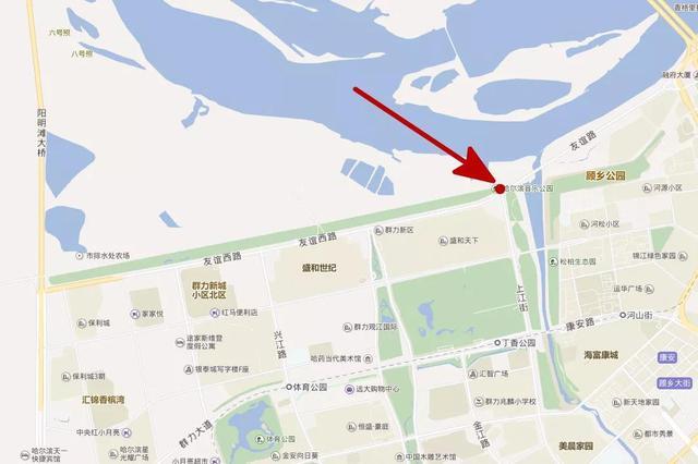 哈尔滨市群力外滩投资9000万要建游艇码头