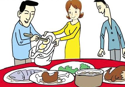 """节俭风尚重回东北人春节餐桌 """"吃不了兜着走""""成常态"""