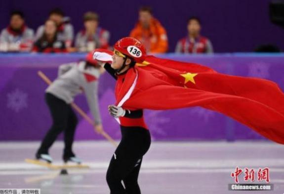 17岁李靳宇为中国短道速滑队夺得本届冬奥会首枚奖牌