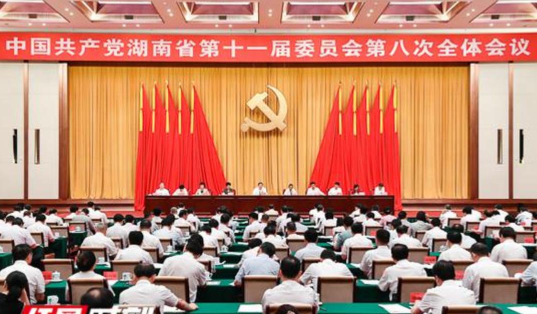 湖南省委第十一届委员会第八次全会