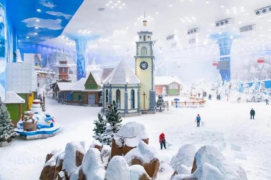 超大雪域娱雪区一票畅玩!