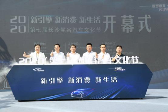 2020第七届长沙麓谷汽车文化节开幕