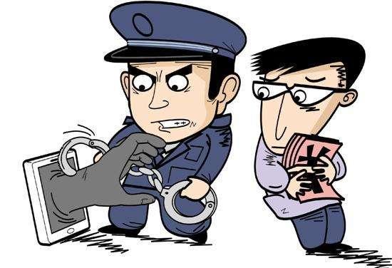 遇上嫌犯幼子 娄底检察官暂停搜查并安慰孩子