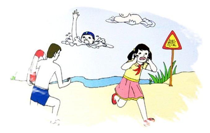 女子游泳被卷入漩涡 湖南泸溪民警激流救人